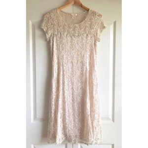 Sundance Sweetheart Lace Dress Medium Size M
